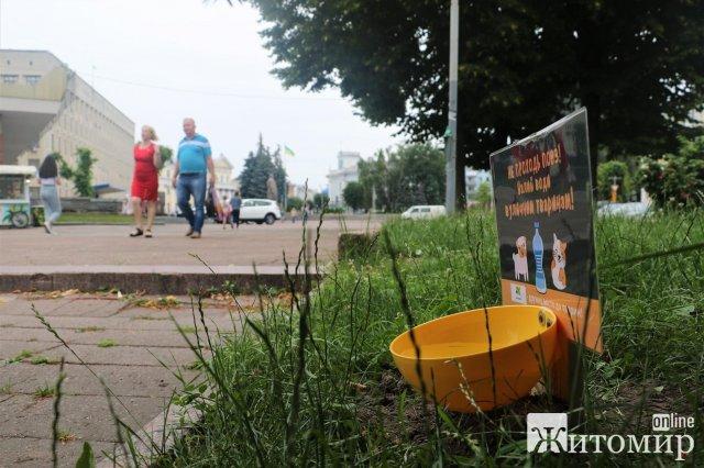 У Житомирі виготовили сотню поїлок для тварин. ФОТО