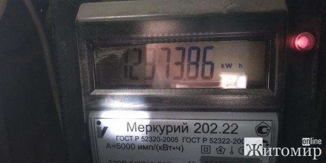 У Житомирі за електроенергію нараховують  що хочуть і надсилають попередження про судові позови. ФОТО