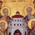 13 липня – Собор Дванадцяти Апостолів