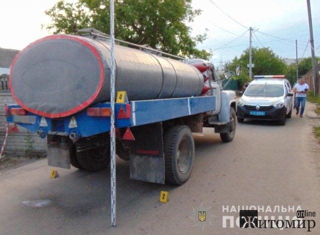 Водія, який у Житомирі насмерть збив дитину, перевірили на вживання алкоголю. ФОТО