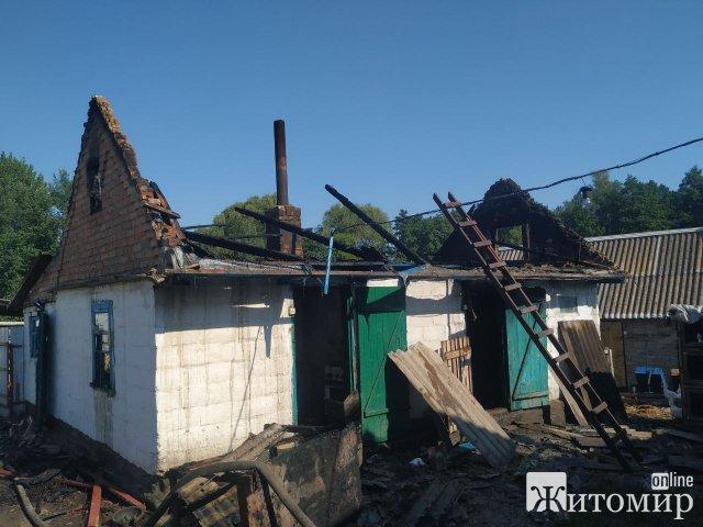У селі Житомирської області плита стала причиною пожежі. ФОТО