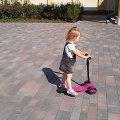 Житомирянка просить допомогти відшукати дитячий самокат. ФОТО