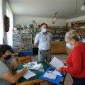 У Любарському районі спеціалісти перевірили декілька об'єктів та виявили порушення під час карантинних обмежень. ФОТО