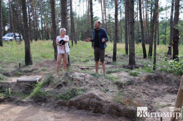 На Житомирщині, де раніше виявили монети давньоримського часу, ведуться археологічні розкопки. ФОТО