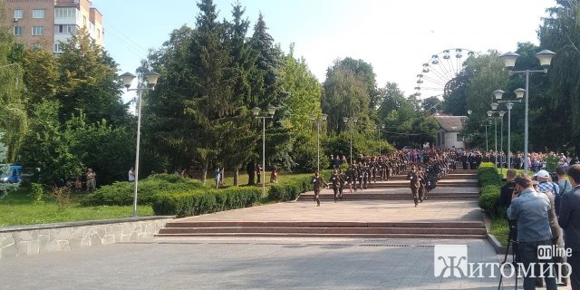 """У житомирській """"Ракушці"""" відбувся випуск офіцерів військового інституту. ФОТО"""