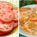 Помідори в клярі — гарна страва для швидкого перекусу, та як закуска на святковому столі