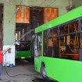 Спеціаліст Держпродспоживслужби подивився, як у Житомирі під час карантину дезінфікують комунальний транспорт