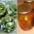 Огірки в томатній заливці
