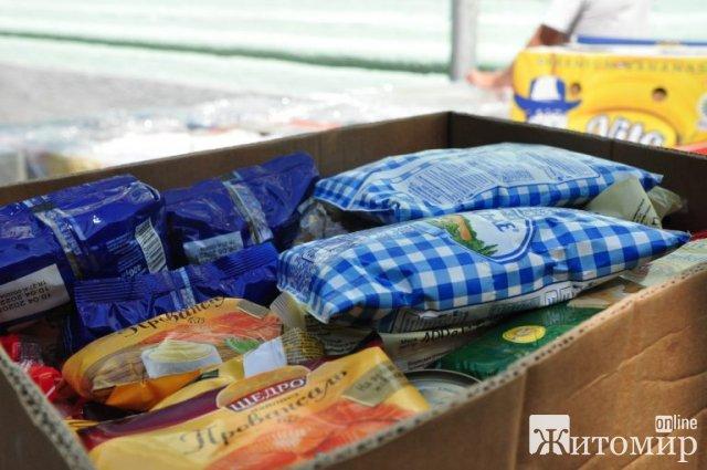 Житомирщина отримала гуманітарну допомогу з Канади. ФОТО