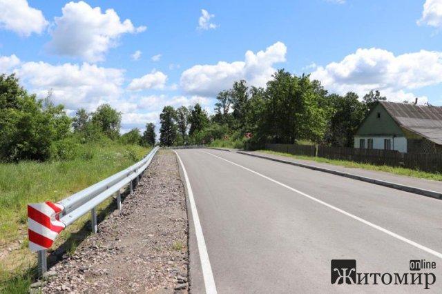 На Житомирщині за понад 18 млн грн відремонтували частину дороги Олевськ-Тепениця. ФОТО
