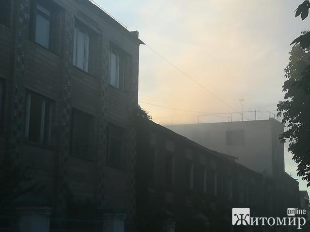 У Житомирі щойно горів хлібзавод. ФОТО