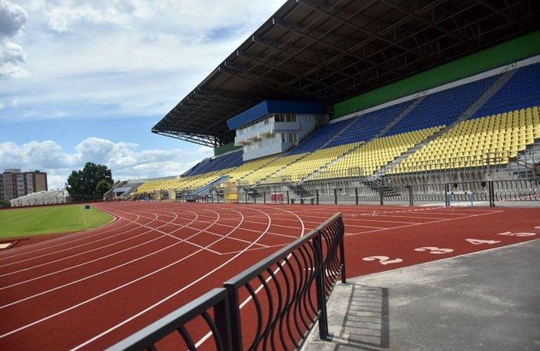 Для повної добудови центрального стадіону Житомира потрібно ще 100 мільйонів