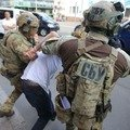 Опубліковано відео затримання терориста у Києві. ВІДЕО