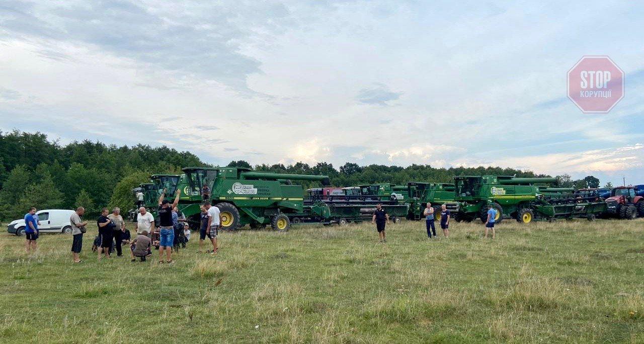 У Житомирській області агрофірми не можуть поділити врожай