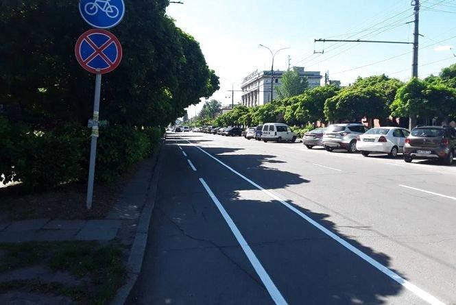 Сергій Сухомлин розповів, на яких вулицях хочуть зробити велодоріжки