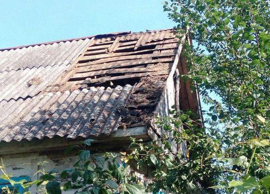 Житомирська область: вогнеборці ліквідували загоряння даху житлового будинку