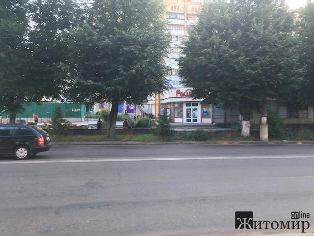 Перехрестя Довженка та Великої Бердичівської у Житомирі сьогодні вранці. ФОТО