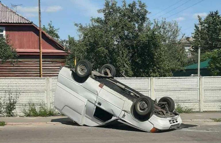 ДТП у Коростені: в одного з водіїв відмовило гальма