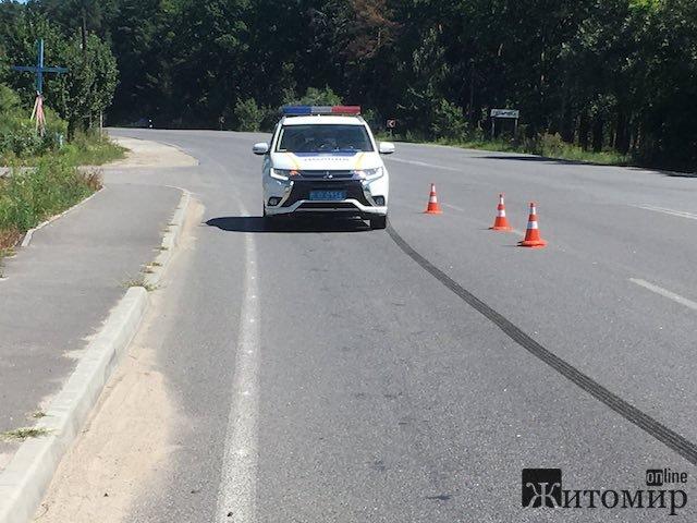 Прикра серпнева аварія в Тетерівці. ФОТО