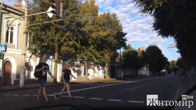 На Великій Бедичівській у Житомирі з'явилась розмітка. ФОТО