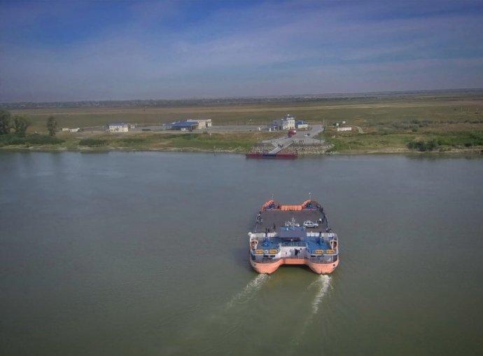 На кордоні України та Румунії запрацювала поромна переправа