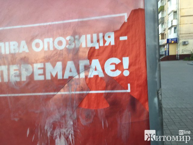 У Житомирі побили «ліву опозицію». ФОТО