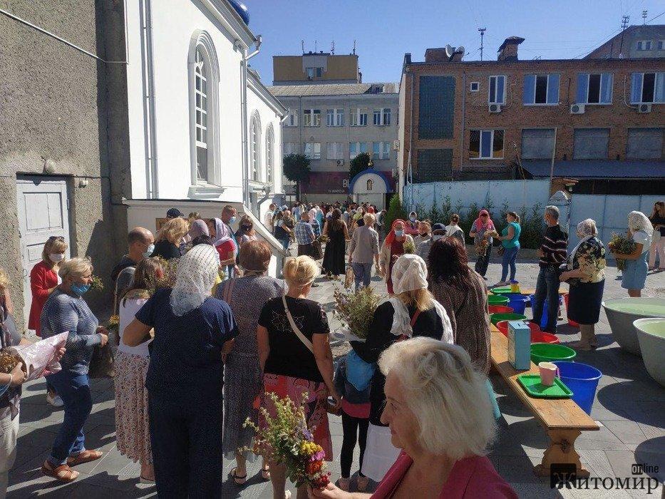 Як житомиряни святкували Медовий Спас? ФОТО