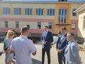 До Житомира завітав міністр: оглянув дитячий садок та спортивну школу