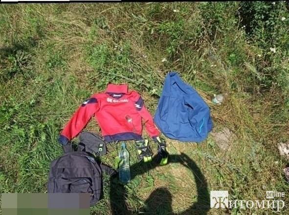 У центрі Житомира чоловік, погрожуючи ножем 9-річній дитині, відібрав велосипед та гроші. ФОТО