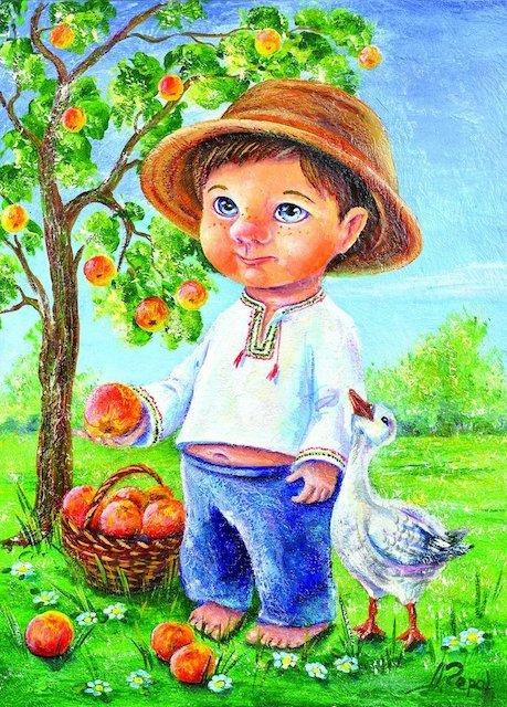 19 серпня - Яблучний Спас: листівки до свята