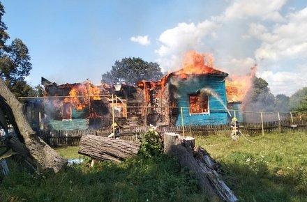 У селі на Житомирщині згоріла церква