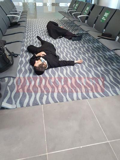 Тисячі хасидів застрягли в аеропортах України без їжі і води: діти плачуть, сплять на підлозі