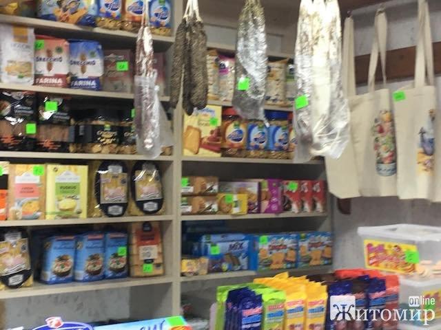 На Житньому ринку у Житомирі місцями як у Барселоні. ФОТО