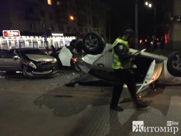 Страшна аварія в центрі Житомира. ФОТО