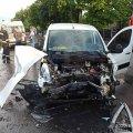 У Малині внаслідок ДТП горів автомобіль, вогнеборці дивом врятували пасажирку