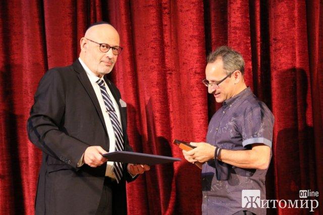 Житомирянин отримав нагороду «Праведник народів світу». ФОТО