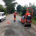 Із початку року на державних шляхах Житомирської області ліквідовано 177 тисяч  кв. м аварійної ямковості. ФОТО