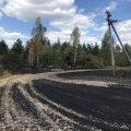 За добу на Житомирщині вигоріло 11 га сухотрав'я. ФОТО