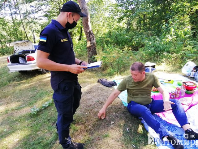 Рятувальники Житомирщини пішли лісами. ФОТО