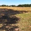 У Житомирській області сусіди врятували жінку, яка намагалася загасити палаючий сухостій, втратила свідомість і обгоріла