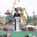 Оккупированный Крым быстрее вернется в Украину, когда рядом с ним будет цветущая и успешная Херсонщина, - Зеленский. ФОТО