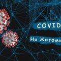 Нові випадки захворюваності на коронавірус в Житомирській області