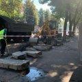 Через ремонтні роботи утворився величезний затор в центрі Житомира. ФОТО