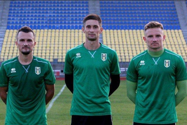 """До складу """"Полісся"""" приєднались троє нових футболістів"""