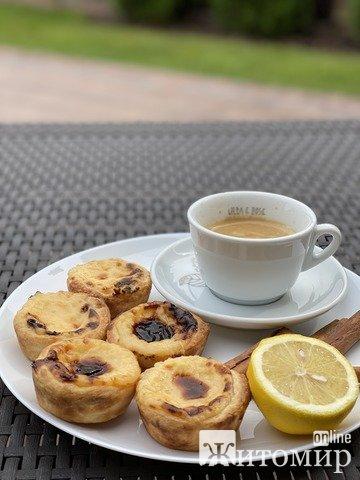 """У """"Будинку кави"""" з'явився новий португальский десерт. ФОТО"""
