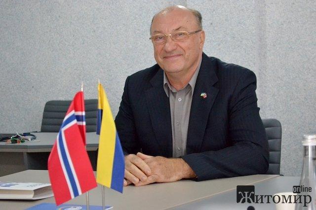 Віктор Євдокимов: «Житомирська політехніка підписала угоду з Норвегією – навчатимемо АТОвців вести бізнес»