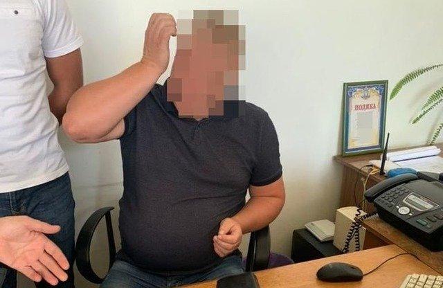 На Житомирщині прокуратура викрила директора комунального підприємства на отриманні хабаря. ФОТО
