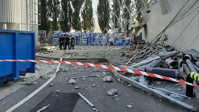 На пивзаводі у Києві стався вибух, є поранені. ФОТО