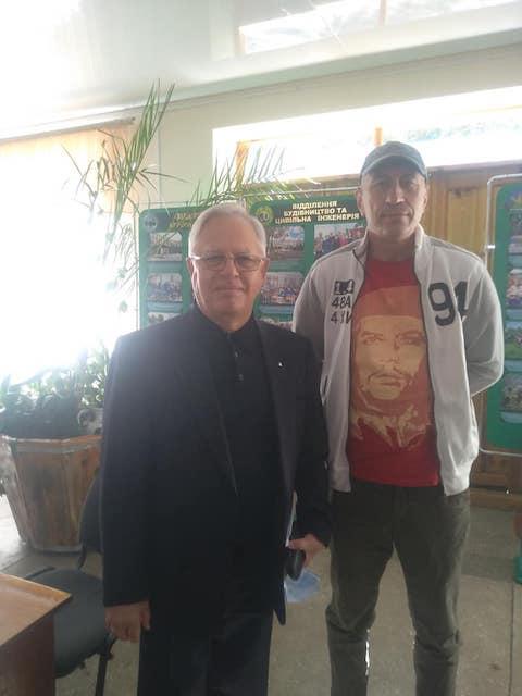 Повна конспірація. У Житомирі побував Петро Симоненко. ФОТО