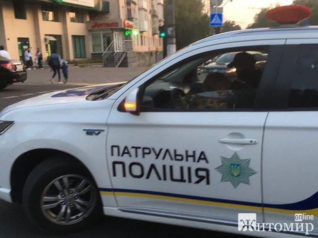 На Великій Бердичівській у Житомирі авто збило дівчинку. ФОТО